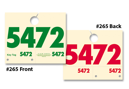 Service Department Control Tags