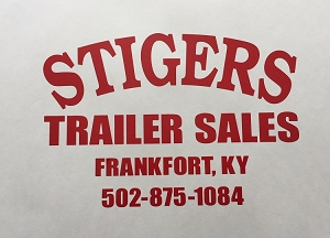 R.V. Dealer/Larger Decals, Die Cut Vinyl