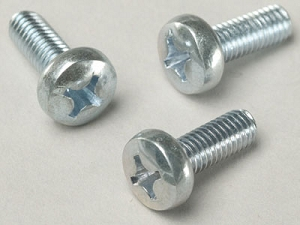 License Plate Screws Metric, M5