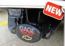 Domed Trailer Hitch Covers